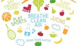 स्वस्थ और फिट रहने के लिए अपने आसपास की चीजों का उपयोग करना