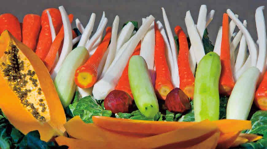 फाइबर युक्त फल और सब्जी
