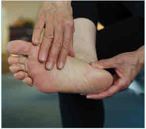 पैर की देखभाल